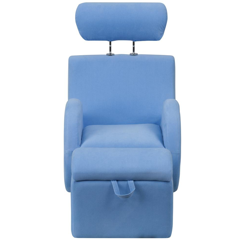 Well Known Hercules Grey Swivel Glider Recliners With Regard To Flash Furniture Hercules Series Light Blue Fabric Rocking Chair With (View 20 of 20)
