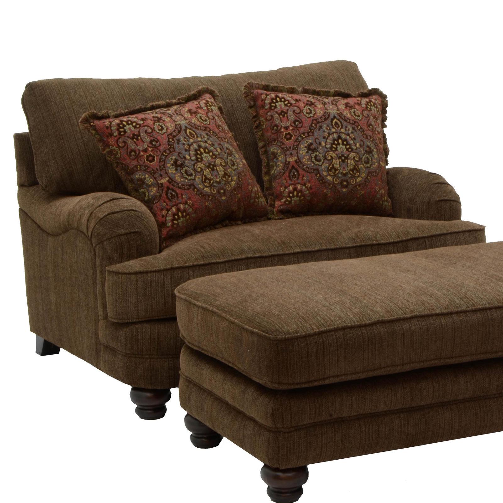 Well Known Jackson Brennan Chair And A Half In Auburn/garnet 4438 01 Code Throughout Brennan Sofa Chairs (View 9 of 20)