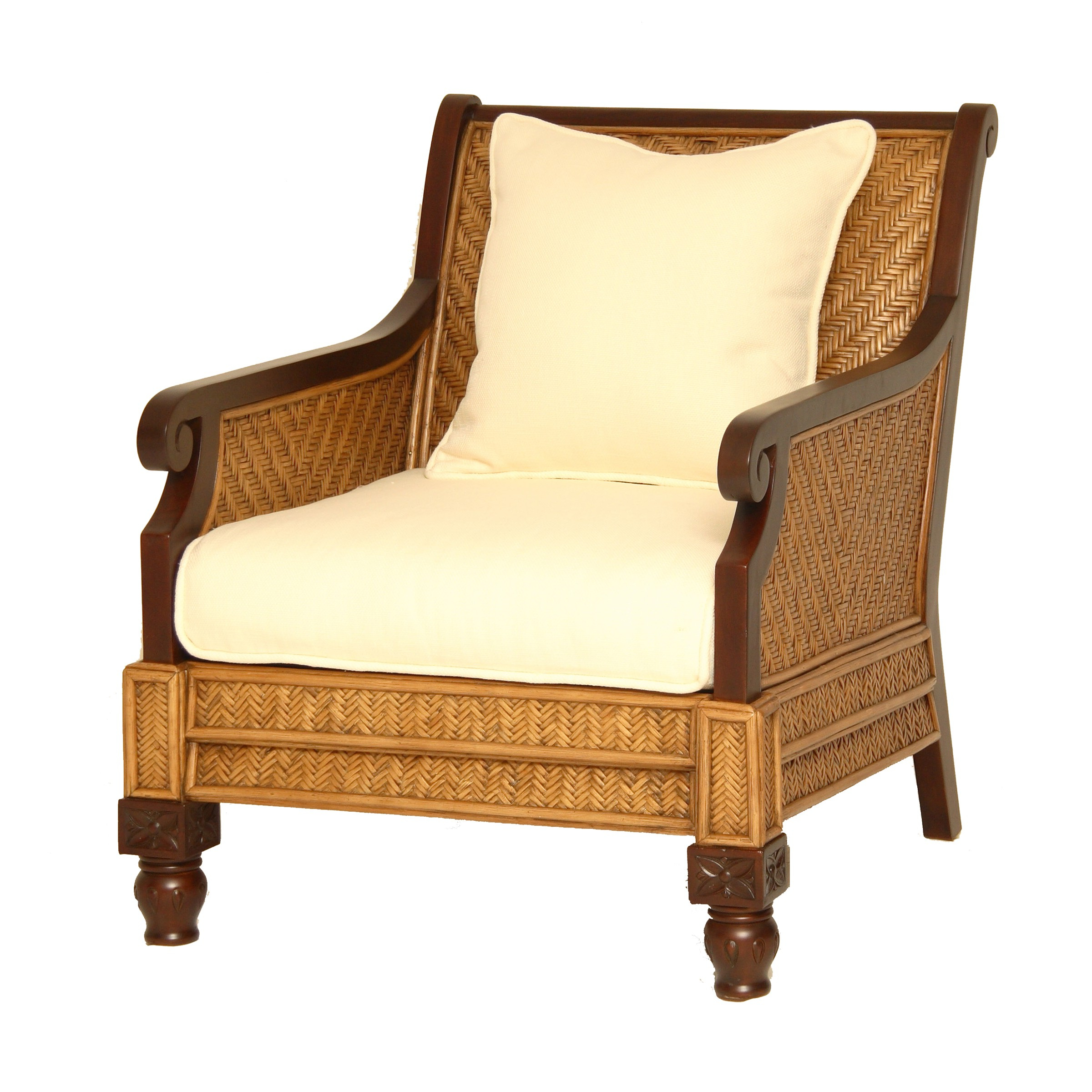 Well Known Liv Arm Sofa Chairs Intended For Padma's Plantation Trinidad Arm Chair (View 17 of 20)