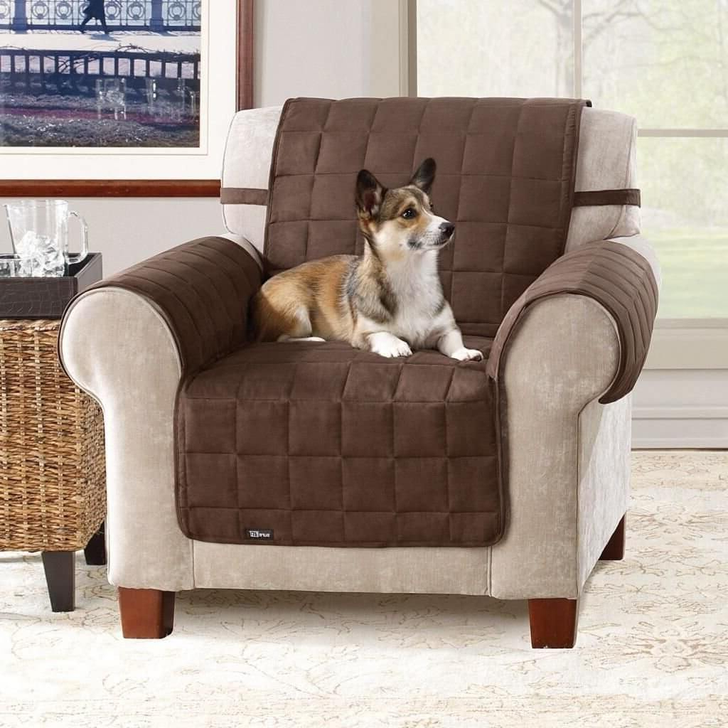 Well Known Sofa And Chair Covers With Regard To Furniture: Sofa Covers At Walmart For A Slightly Loose And Casual (View 10 of 20)