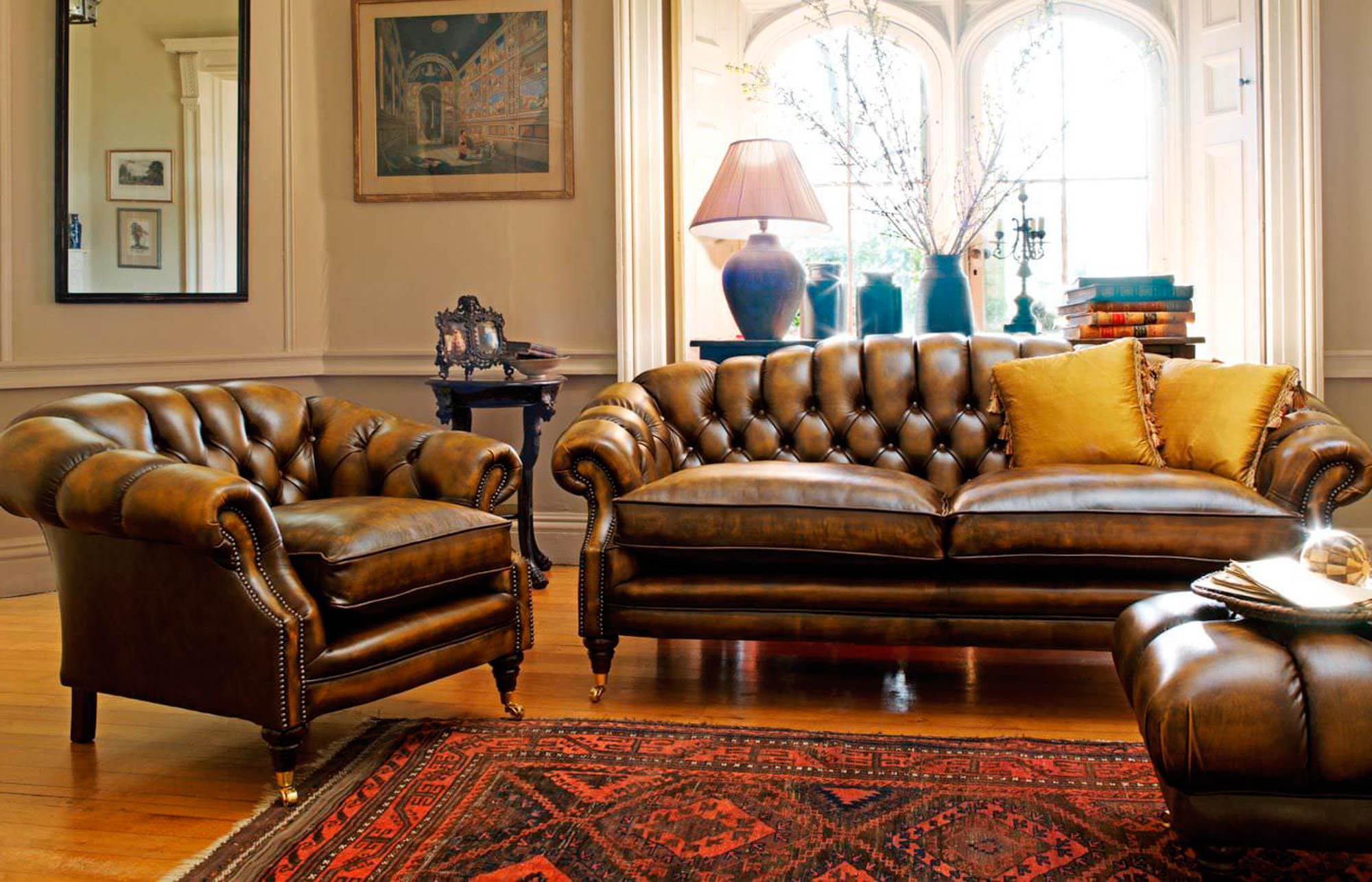 Well Known Sofas, Chesterfield & Club Chair Primer — Gentleman's Gazette Within Chesterfield Sofa And Chairs (View 4 of 20)