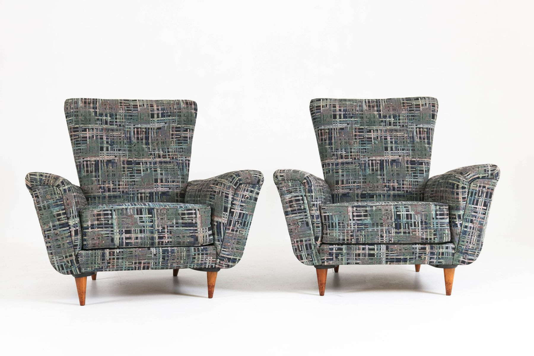 Well Known Theo Ii Swivel Chairs Intended For Mid Century Lounge Chairstheo Ruth For Artifort, 1950S, Set Of 2 (Gallery 6 of 20)