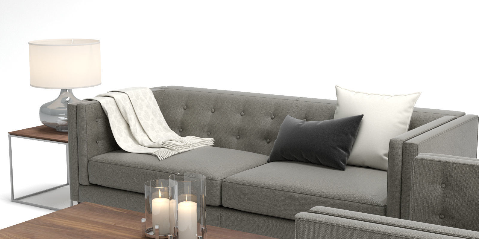 Well Liked 3D Crate And Barrel Aidan Sofa Chair (View 20 of 20)