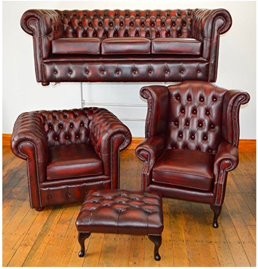 Well Liked Chesterfield Sofa And Chairs Within Second Hand Chesterfield Sofa (Gallery 1 of 20)