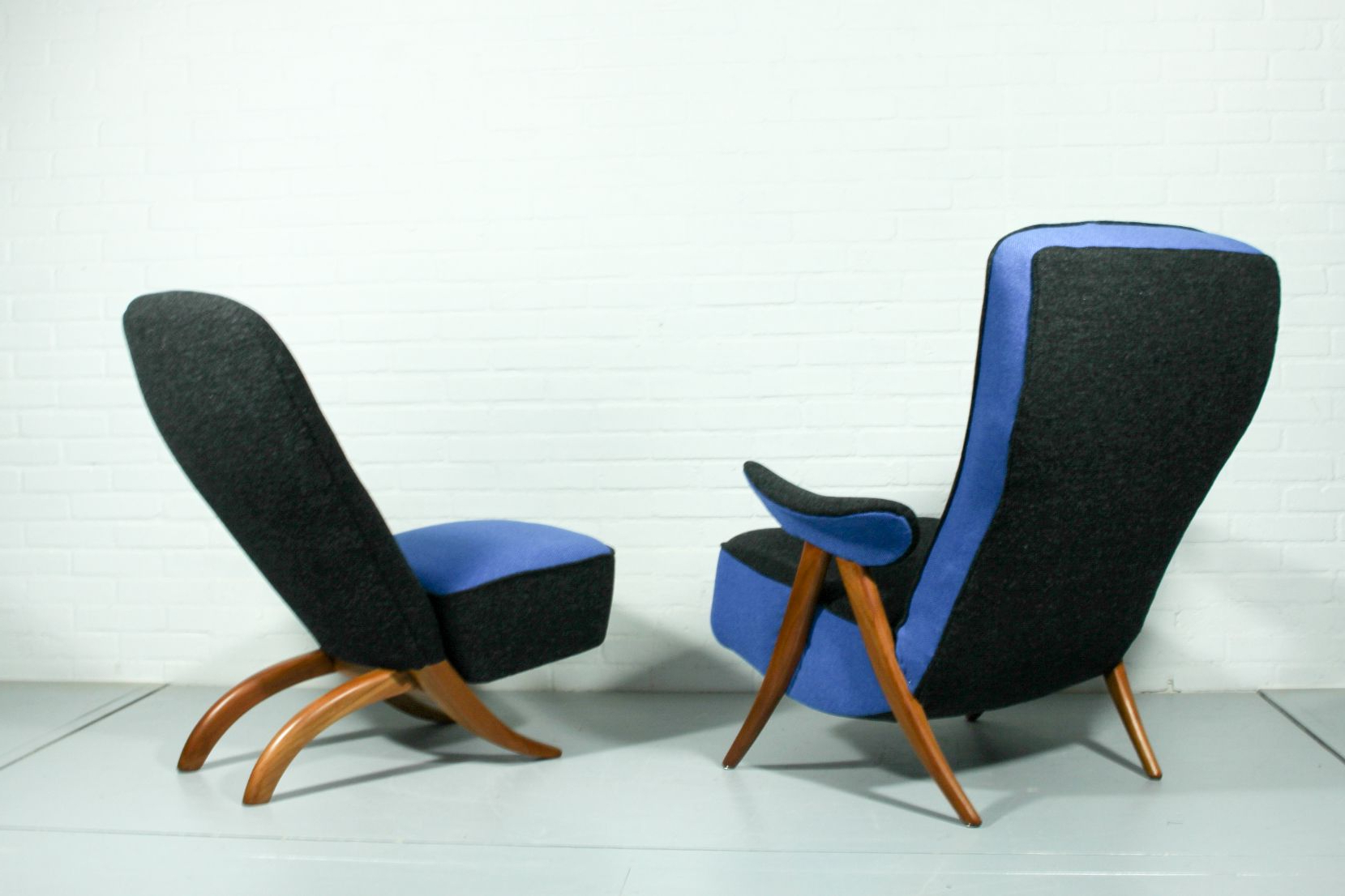 Well Liked Mid Century Model 107 & Congo Lounge Chairstheo Ruth For In Theo Ii Swivel Chairs (View 8 of 20)