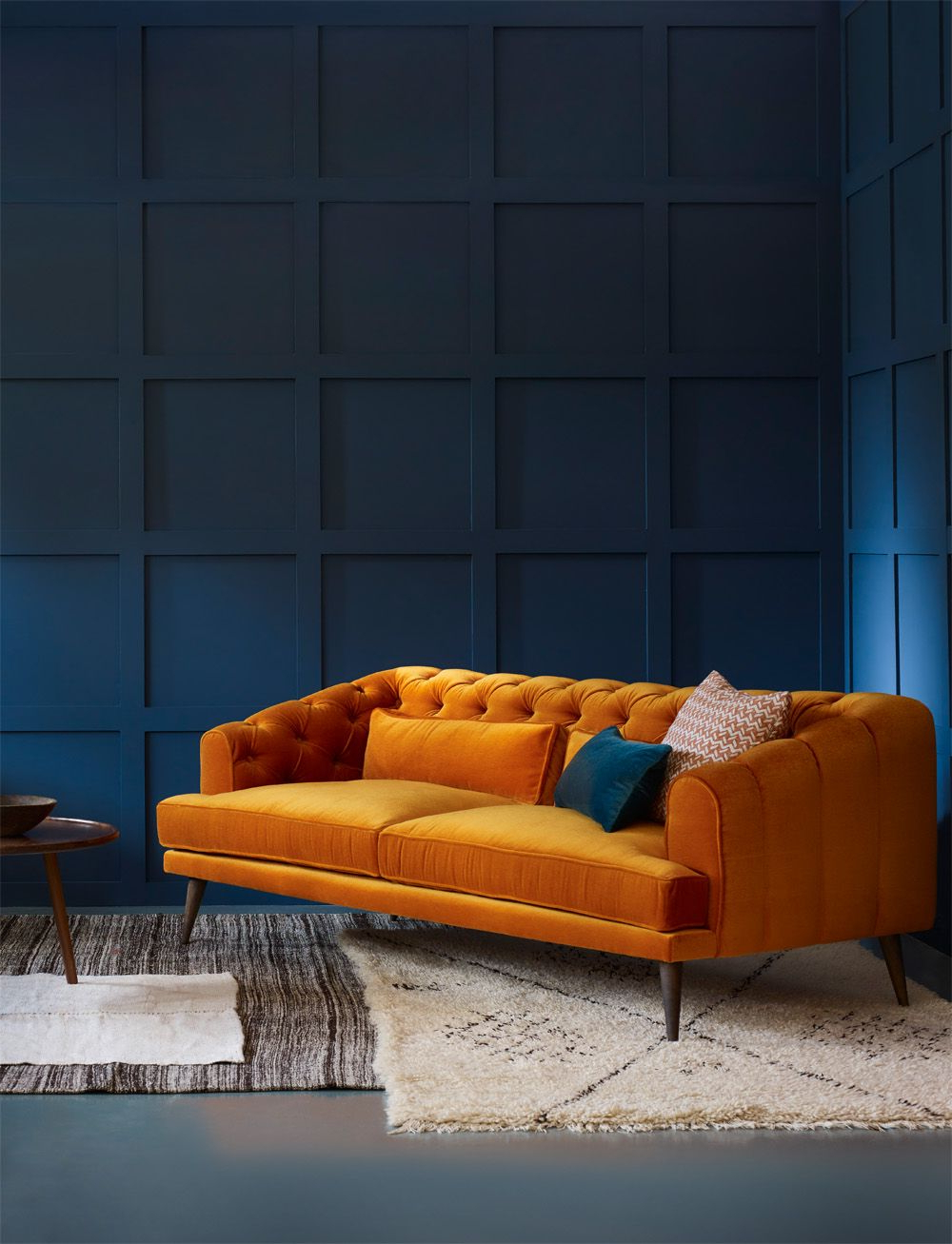Well Liked Orange Sofa Chairs With Regard To Pinsofascouch On Sofa Furniture (View 2 of 20)
