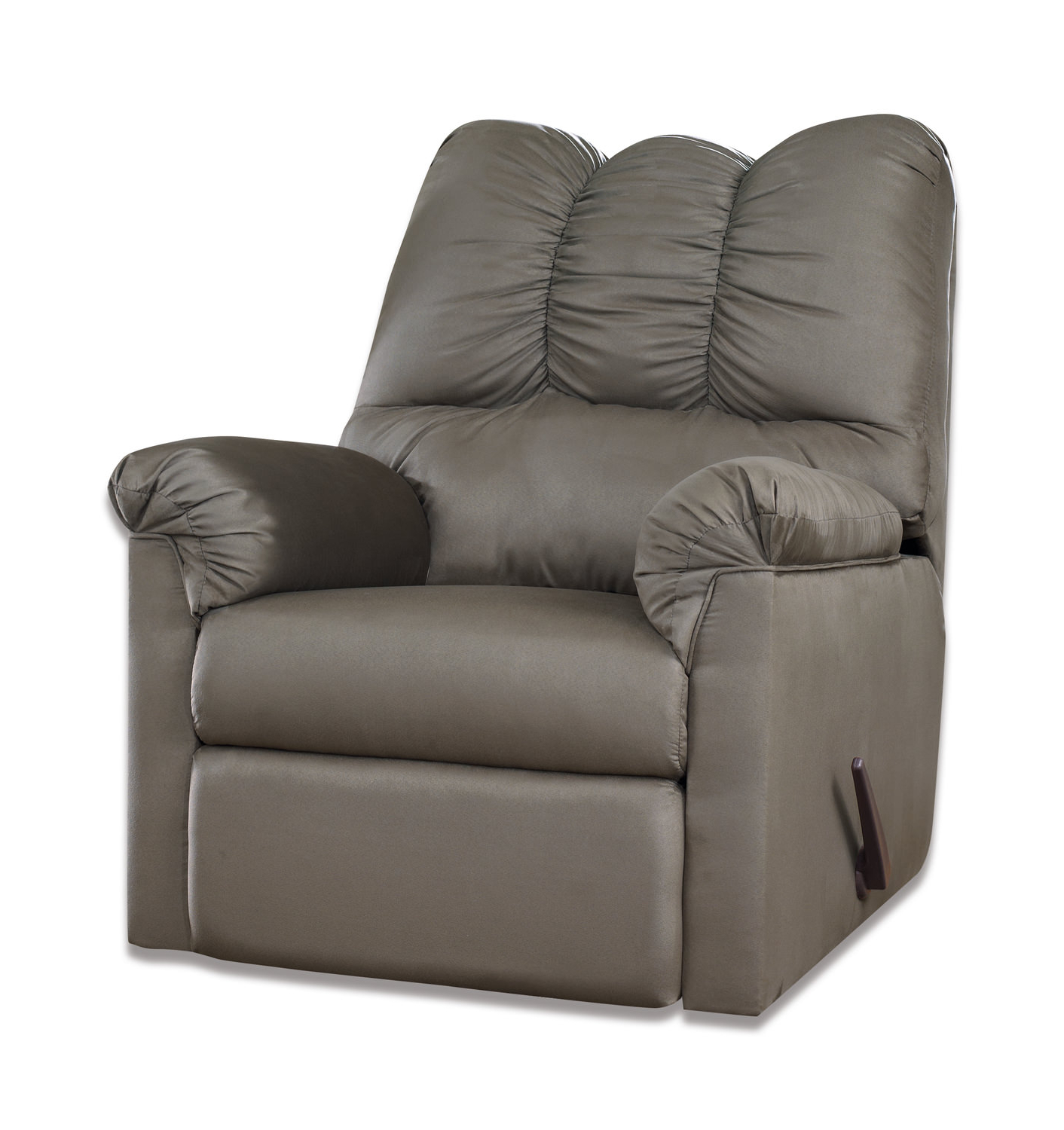 Well Liked Recliners – Leather, Rocker & Swivel – Hom Furniture In Chocolate Brown Leather Tufted Swivel Chairs (View 11 of 20)