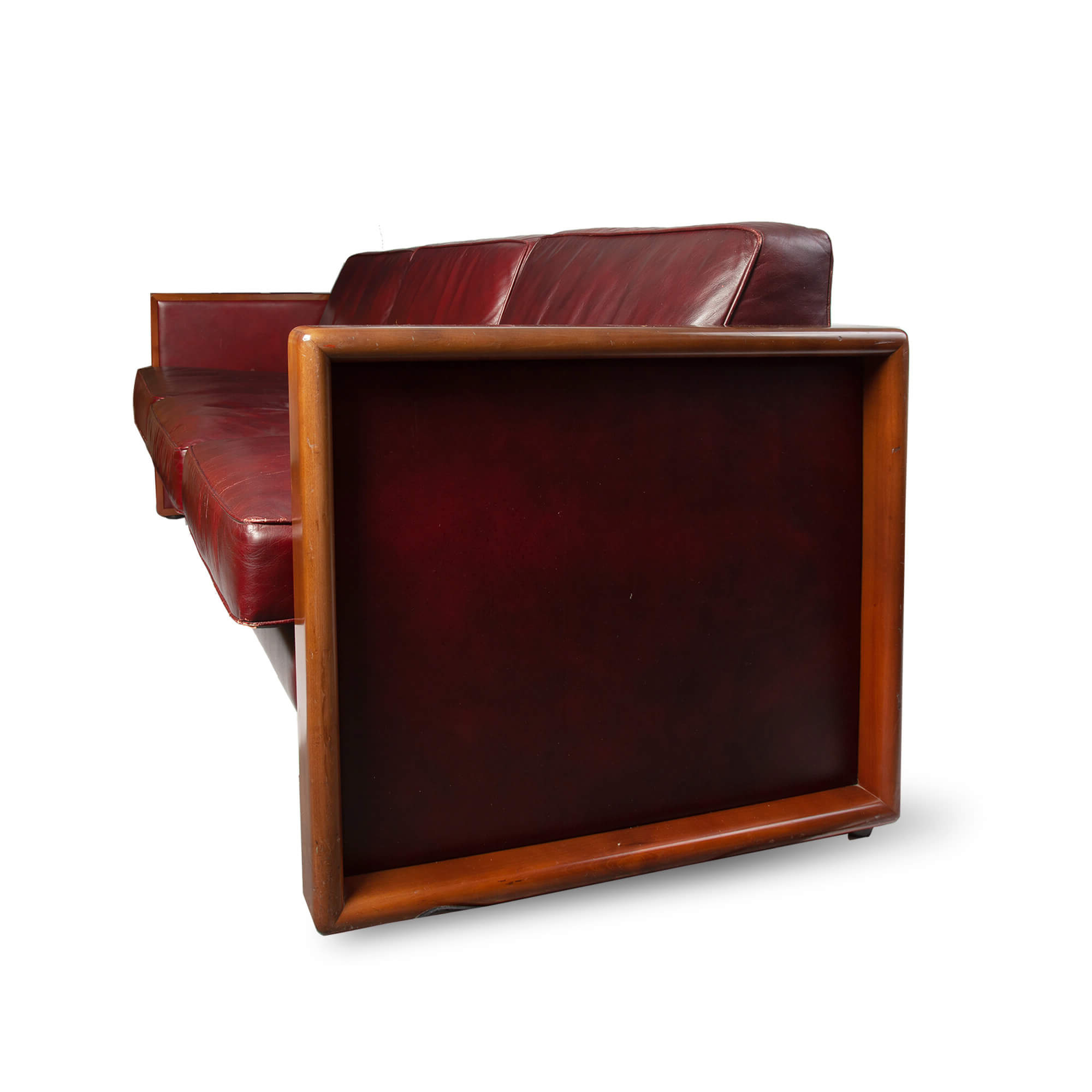 Well Liked Vintage Walter Knoll Leather Sofa In Walter Leather Sofa Chairs (View 19 of 20)