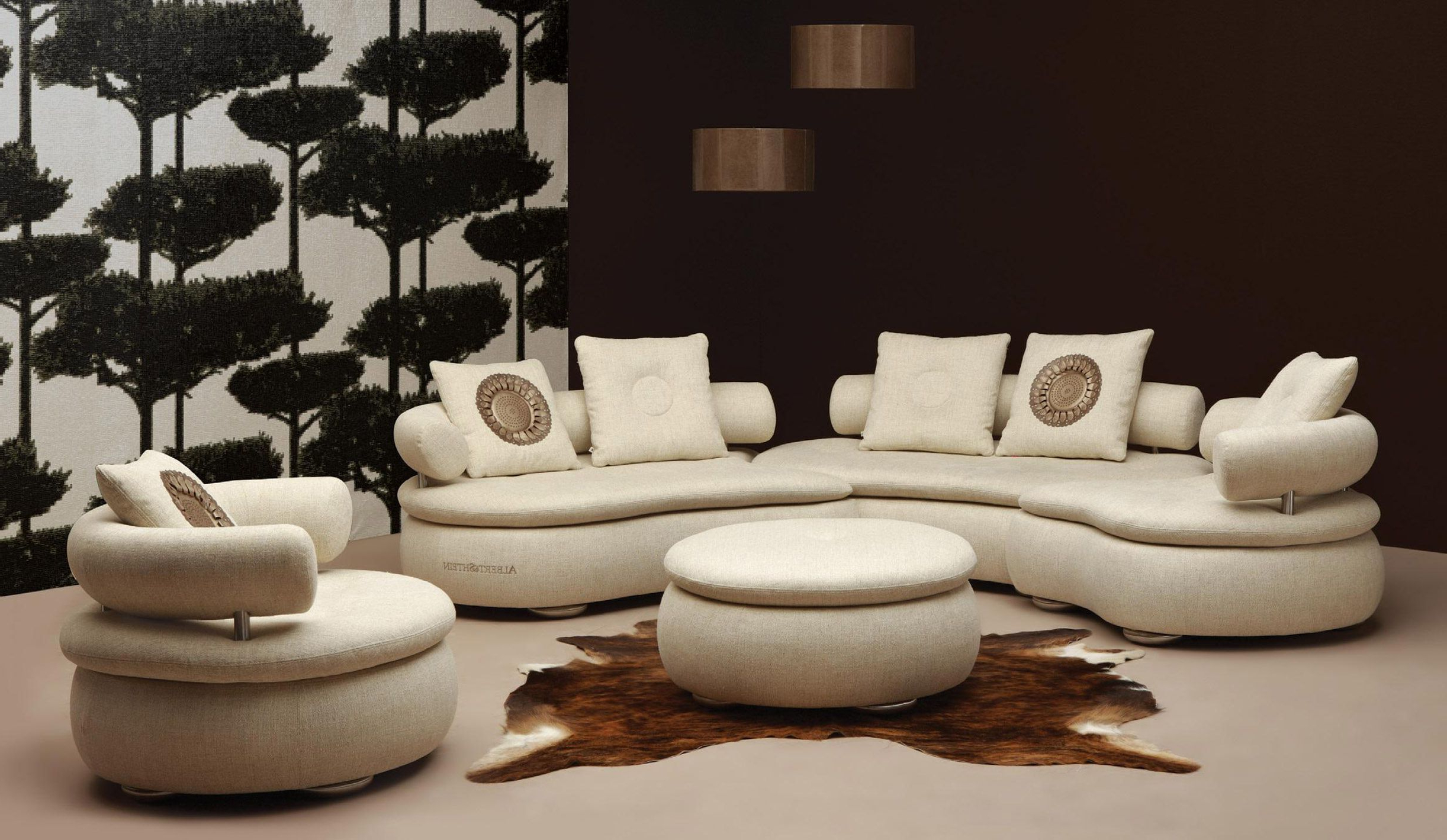 Widely Used Living Room : Round Sofa Chair Semi Circle Couch Round Sectional Regarding Round Sofa Chair Living Room Furniture (View 20 of 20)