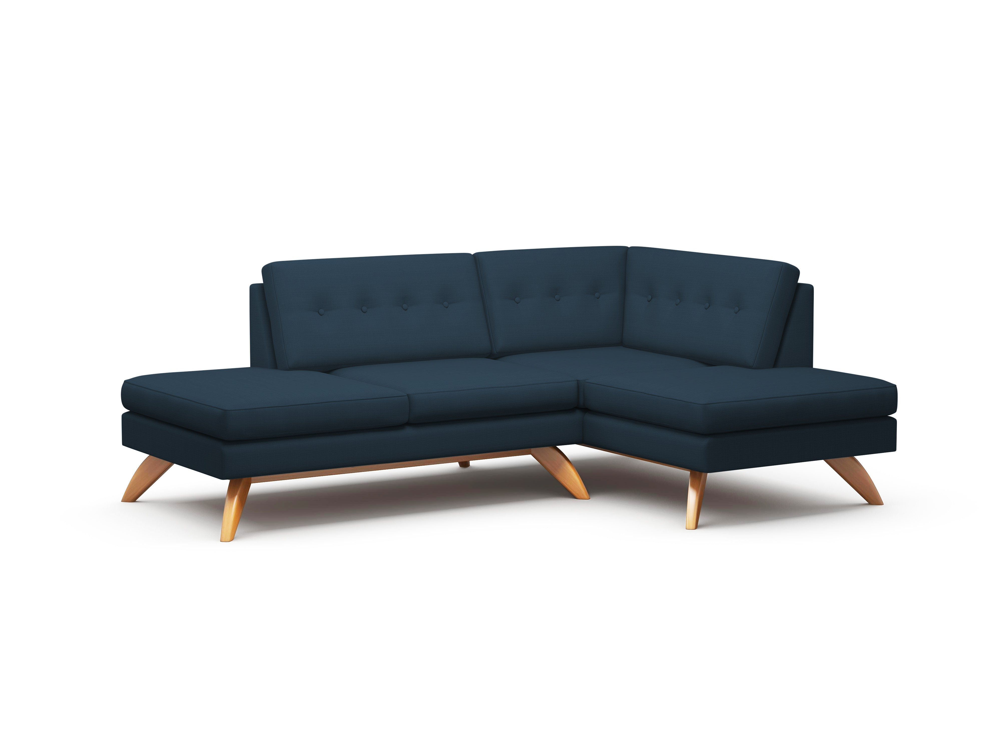 Widely Used Loft Arm Sofa Chairs Pertaining To Luna Double Bumper Loft Sofa – Truemodern™ (View 20 of 20)