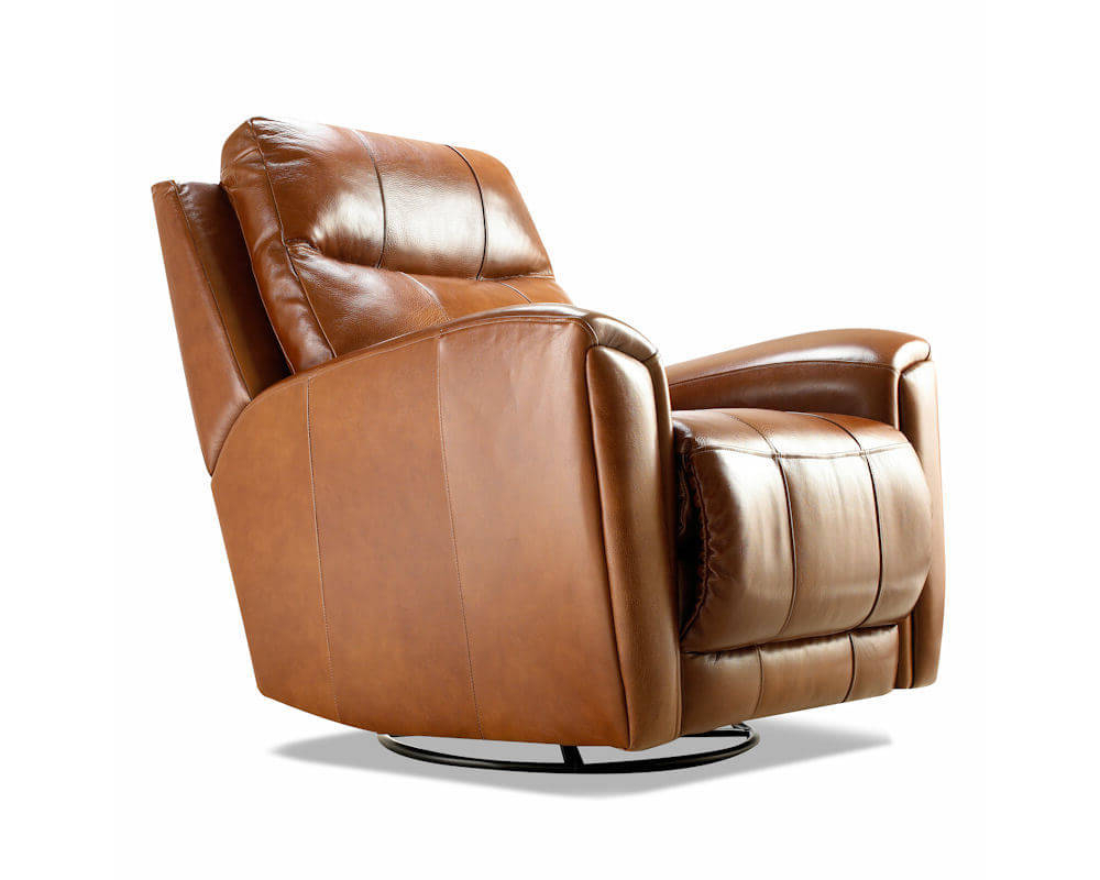 Widely Used Probably Outrageous Nice Leather Reclining Armchair And Footstool With Amala Bone Leather Reclining Swivel Chairs (View 20 of 20)