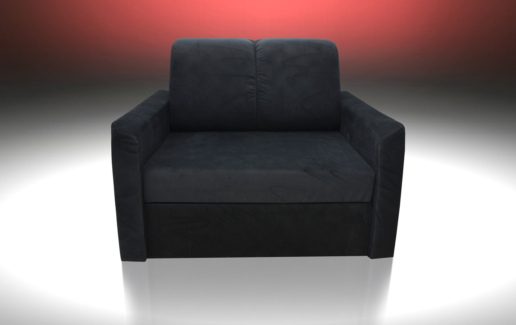 Widely Used Single Chair Sofa Bed 'sun' , Velvet Fabric, All Colours Available With Single Chair Sofa Bed (Gallery 9 of 20)