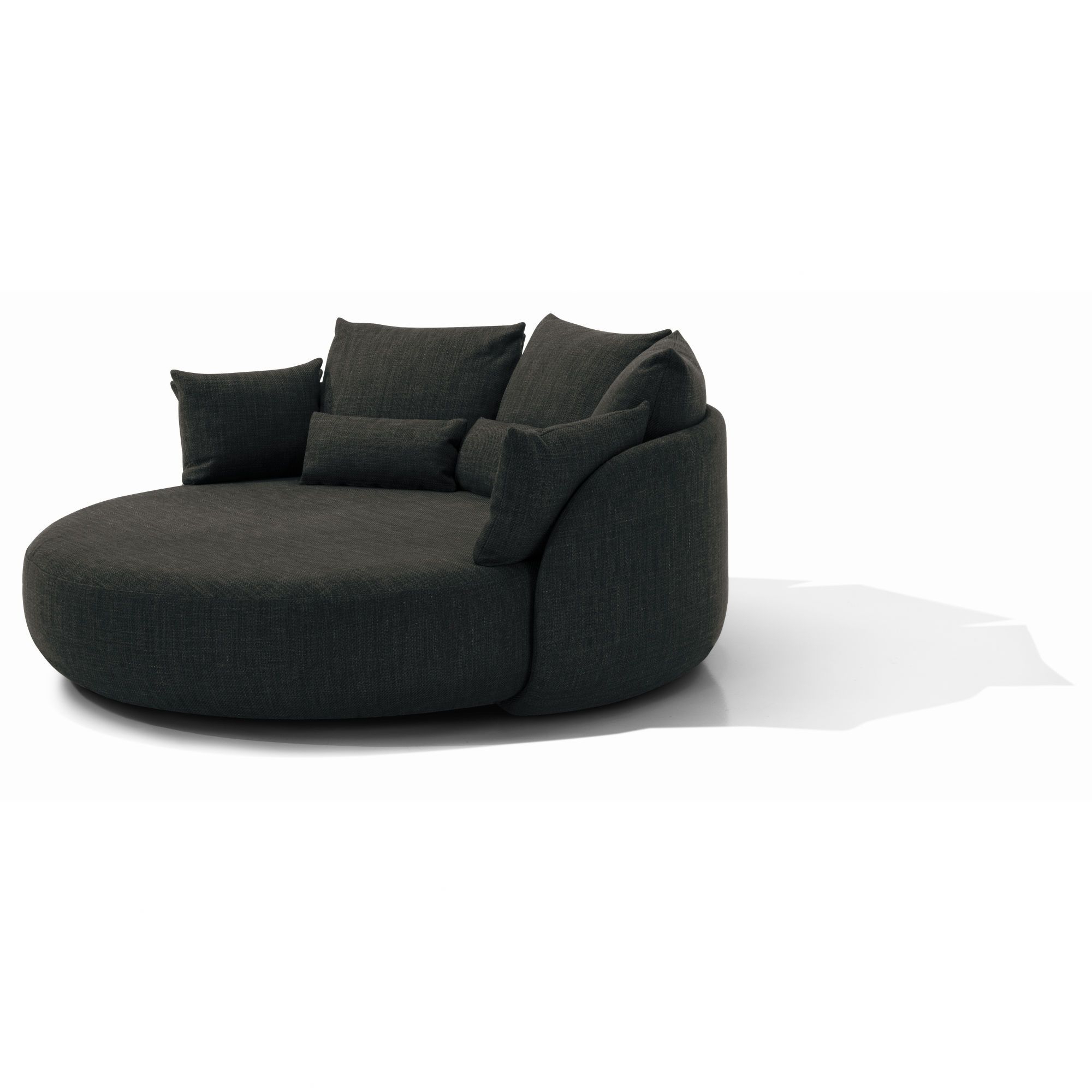 "Widely Used Totally Impractical Sofa For Our Small Space At 81"" Round – Is It Regarding Circle Sofa Chairs (View 4 of 20)"
