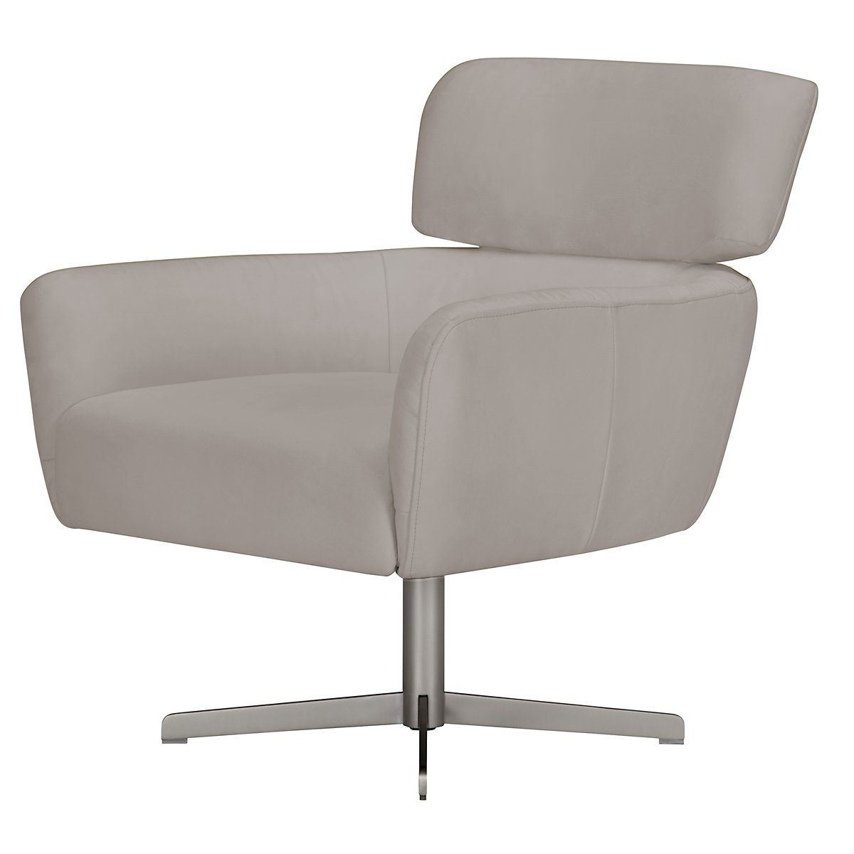 Widely Used Wynn Light Gray Microfiber Swivel Accent Chair (View 10 of 20)