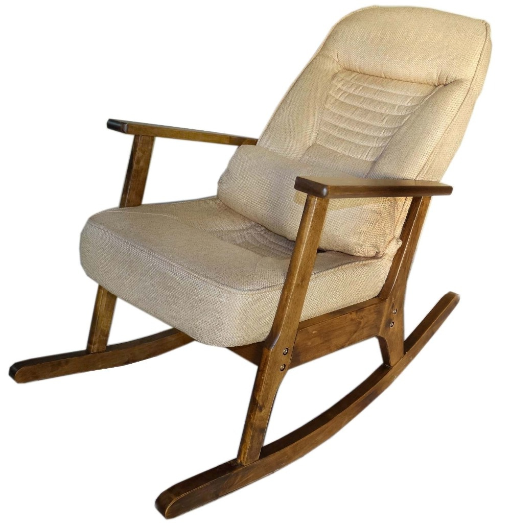 Wooden Rocking Chair For Elderly People Japanese Style Chair Rocking With Well Known Sofa Rocking Chairs (View 20 of 20)