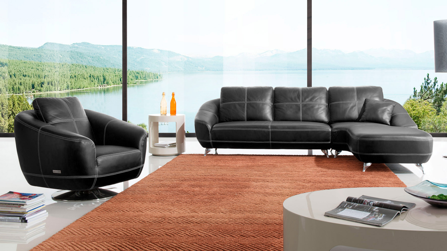 Zuri Furniture Inside Well Liked Lucy Dark Grey Sofa Chairs (View 5 of 20)