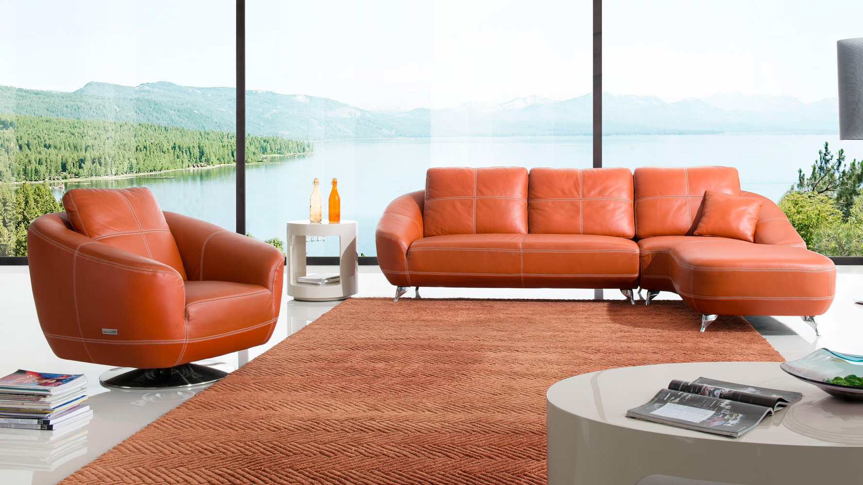 Zuri Furniture Pertaining To Lucy Grey Sofa Chairs (View 8 of 20)