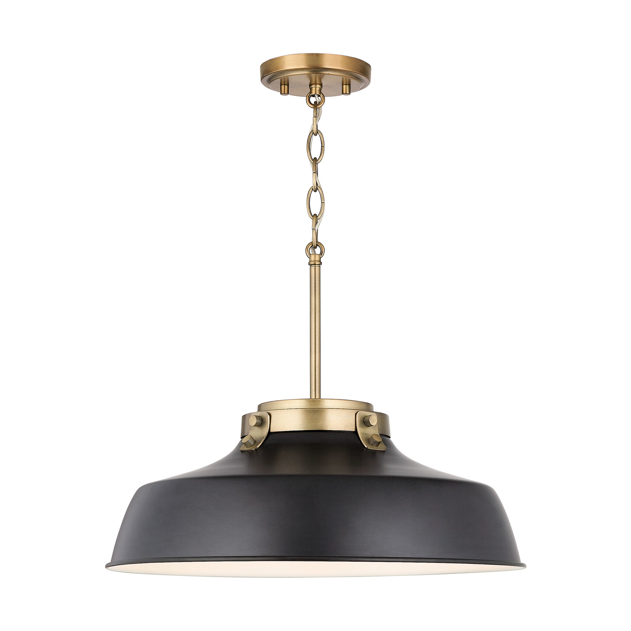 1 Light Dome Pendant In Most Popular Ryker 1 Light Single Dome Pendants (View 13 of 20)