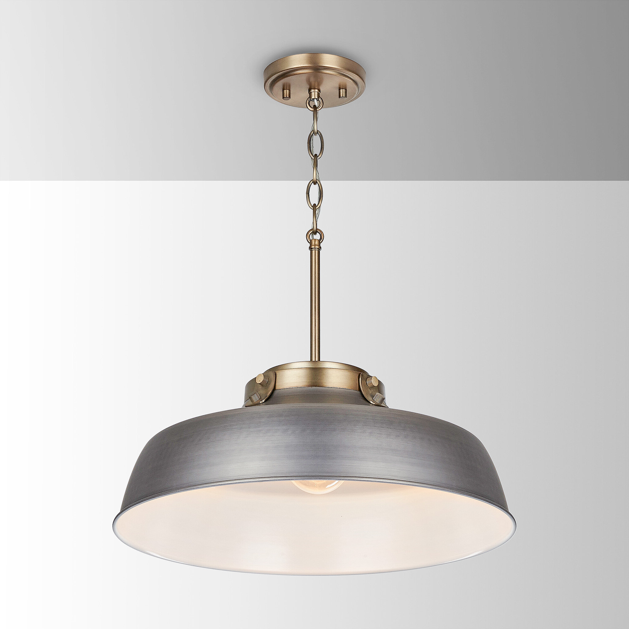 1 Light Dome Pendant Regarding Best And Newest Conover 1 Light Dome Pendants (View 7 of 20)