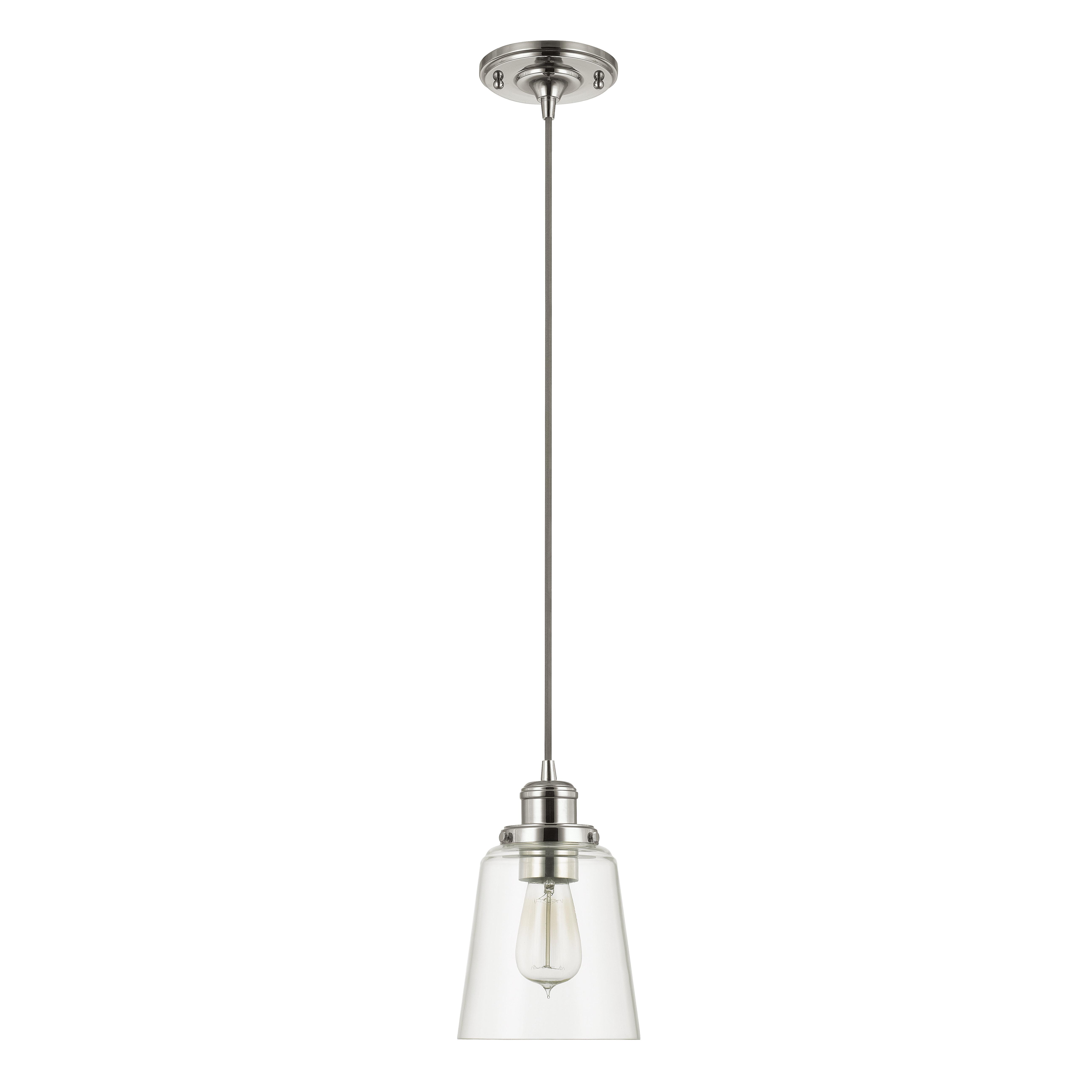 1 Light Single Bell Pendant Inside Preferred Fresno Dome 1 Light Bell Pendants (View 1 of 20)