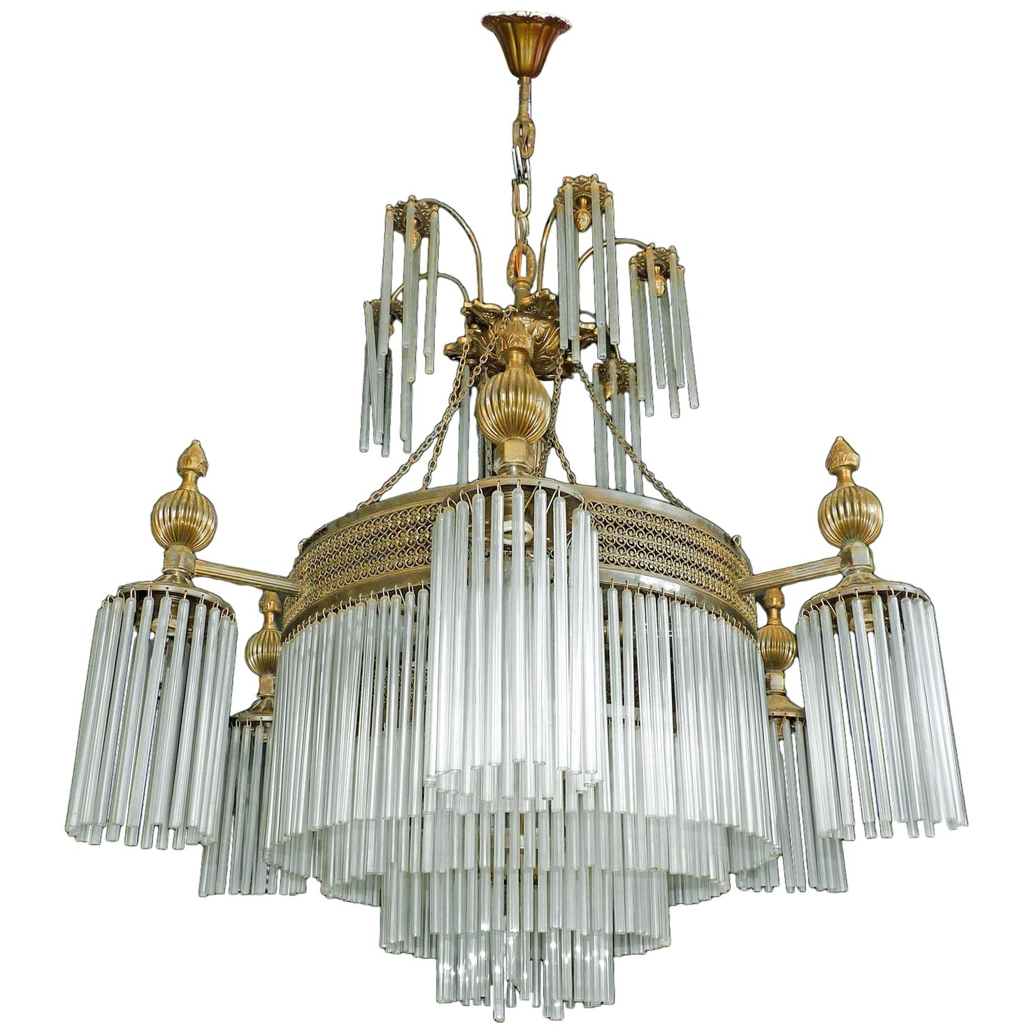 12 Light Chandelier Pertaining To Recent Vroman 12 Light Sputnik Chandeliers (View 18 of 20)