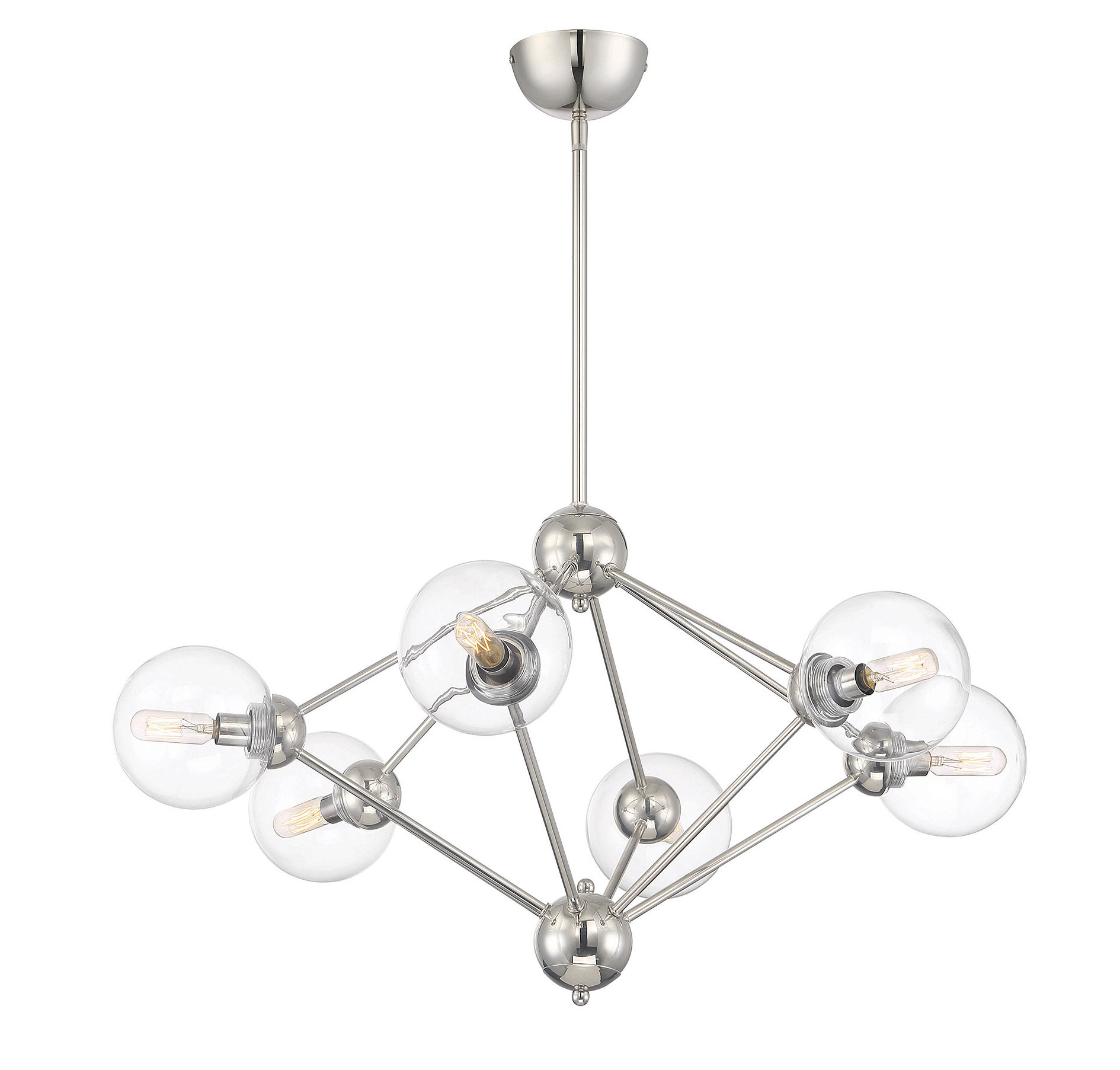 2019 Asher 12 Light Sputnik Chandeliers Intended For Valetta 6 Light Geometric Chandelier (View 1 of 20)