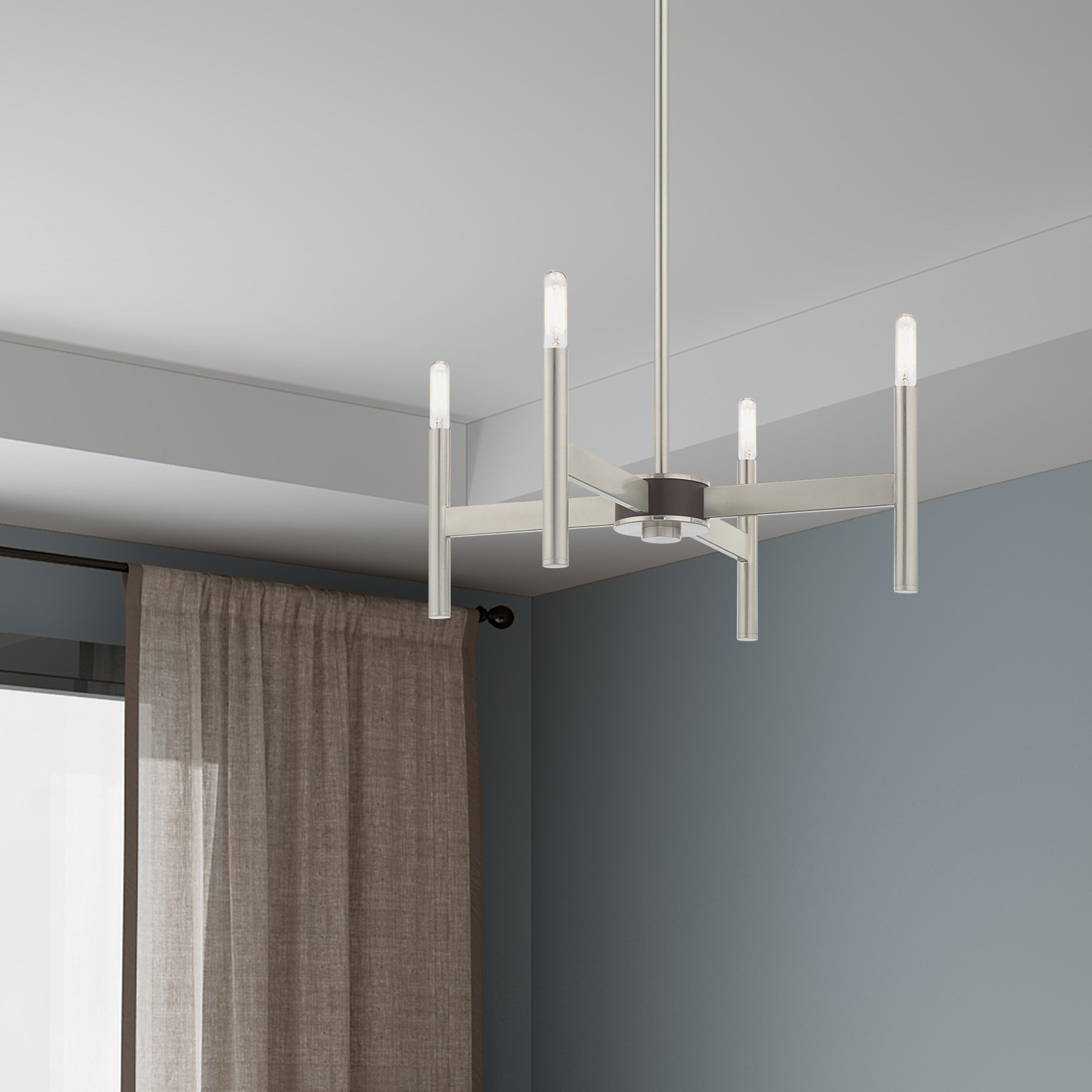 2019 Beldale Mini 4 Light Candle Style Chandelier Pertaining To Aldora 4 Light Candle Style Chandeliers (View 1 of 20)