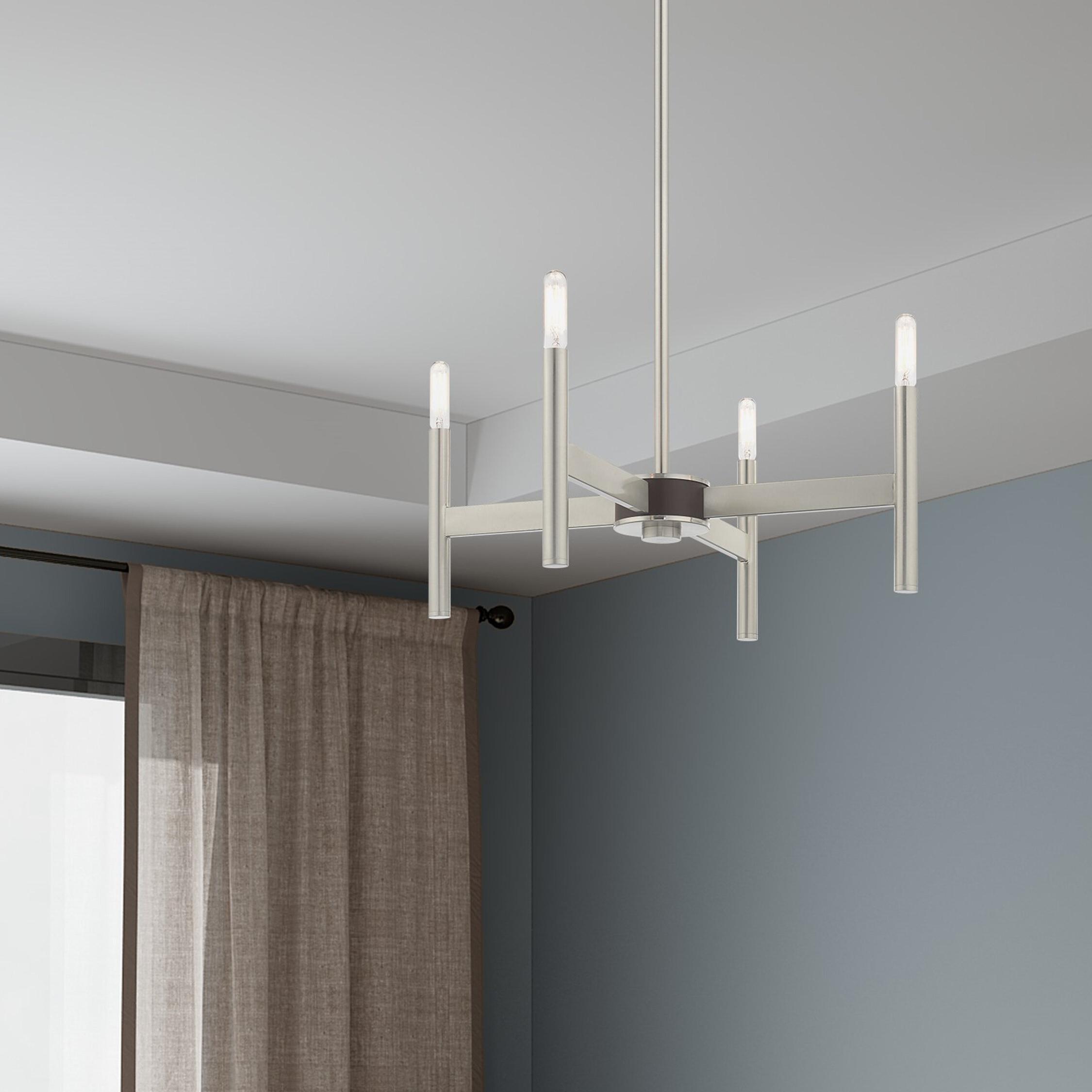 2019 Beldale Mini 4 Light Candle Style Chandelier Pertaining To Aldora 4 Light Candle Style Chandeliers (Gallery 19 of 20)