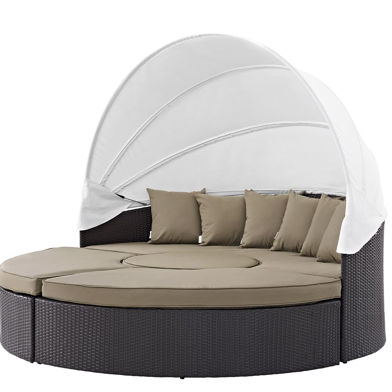 2019 Brentwood Patio Daybeds With Cushions In Brentwood Patio Daybed With Cushions (Gallery 2 of 20)
