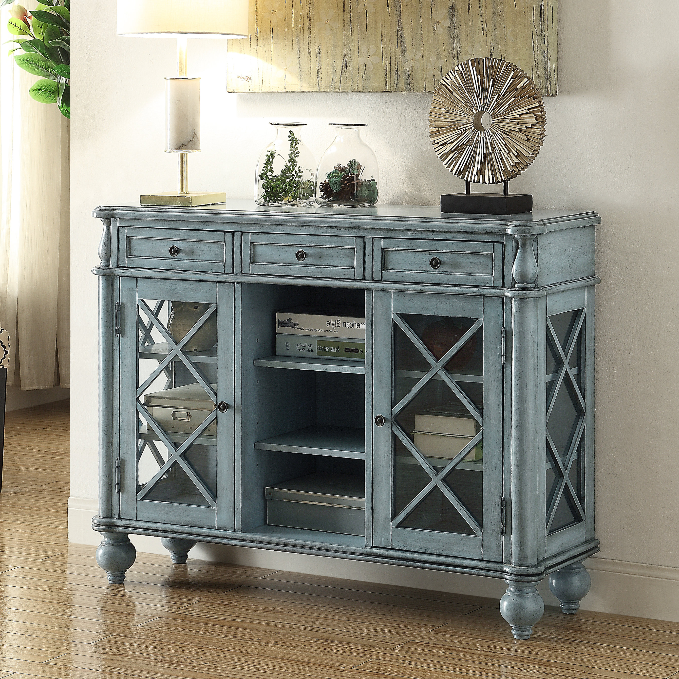 2019 Chicoree Charlena Sideboards Within Cottage & Country Sideboard / Credenza Sideboards & Buffets (Gallery 7 of 20)