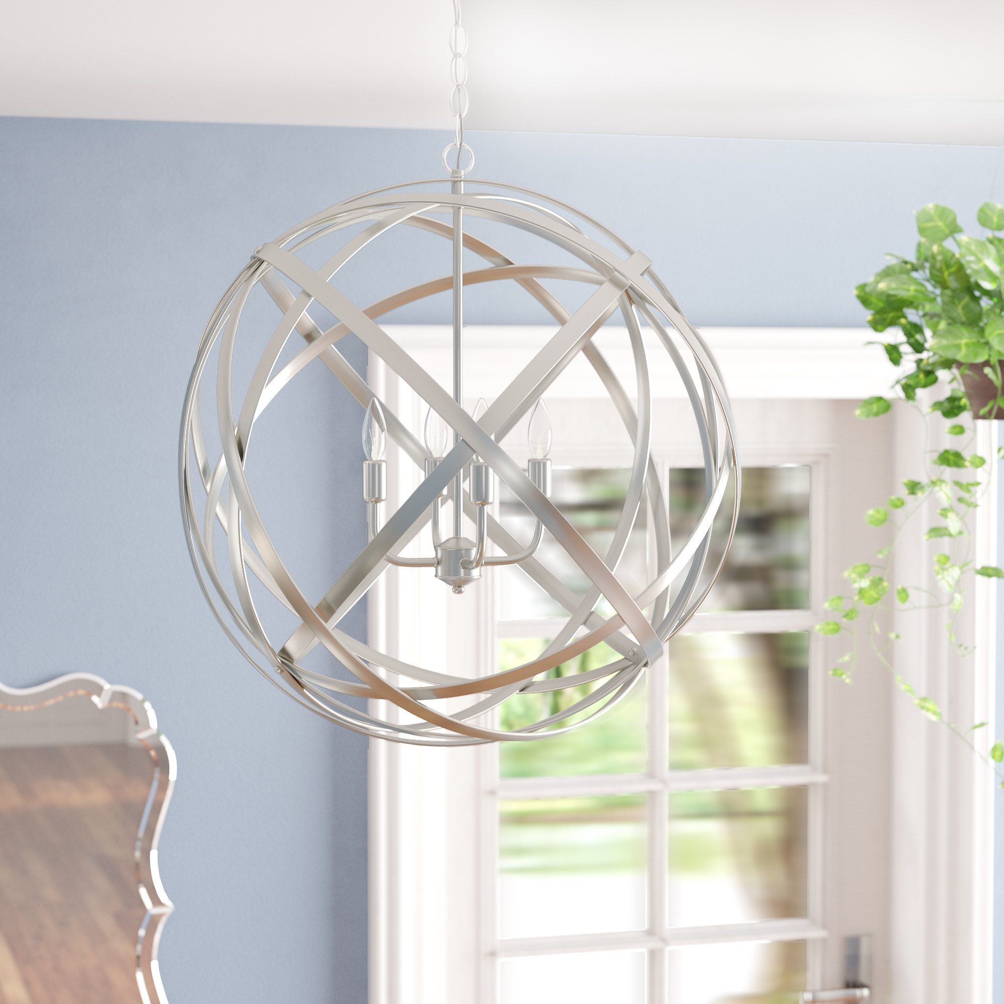 2019 Darby Home Co Farrier 3 Light Lantern Drum Pendant & Reviews Pertaining To Farrier 3 Light Lantern Drum Pendants (View 1 of 20)