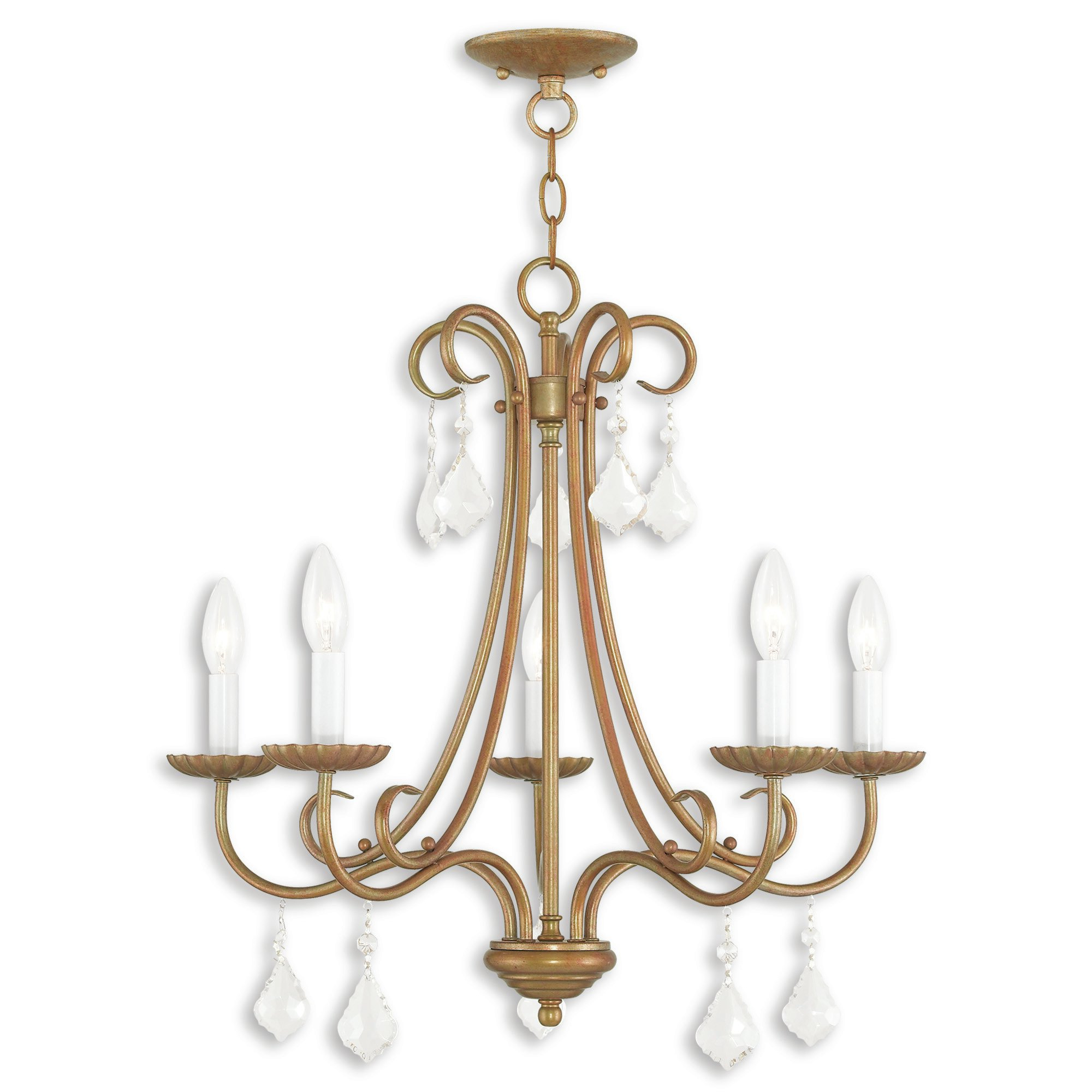 2019 Devan 5 Light Candle Style Chandelier Within Blanchette 5 Light Candle Style Chandeliers (View 1 of 20)