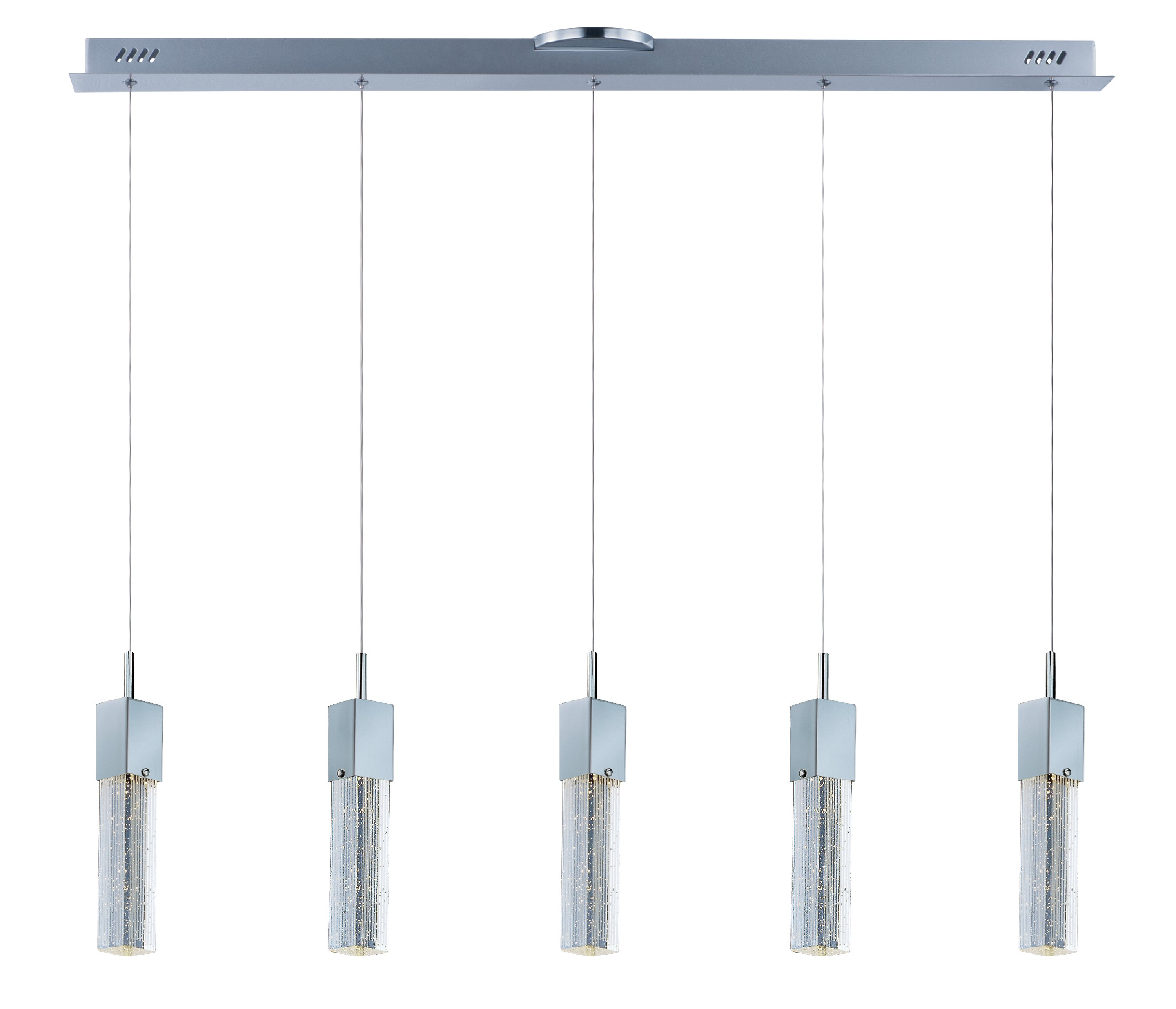 2019 Diphda 5 Light Led Pendant Regarding Zachery 5 Light Led Cluster Pendants (Gallery 3 of 20)