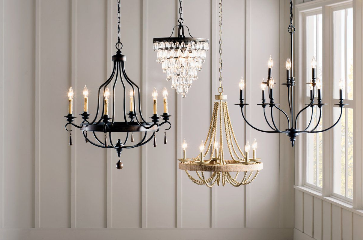 2019 Giverny 9 Light Candle Style Chandeliers Pertaining To Giverny 9 Light Candle Style Chandelier In (View 2 of 20)