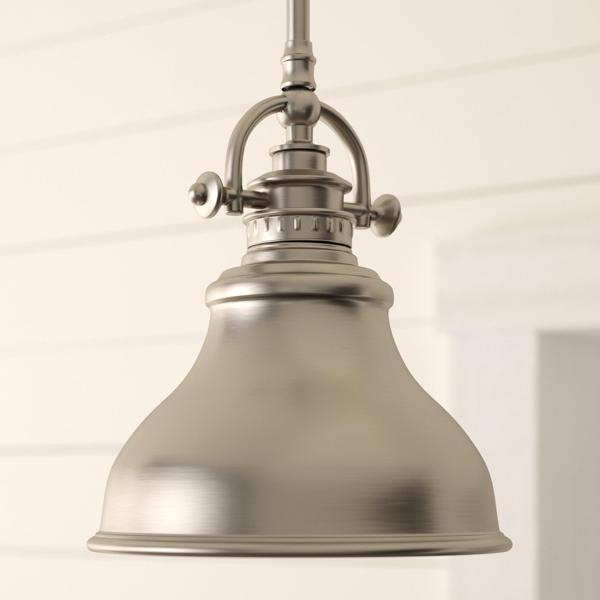 2019 Hamilton 1 Light Single Dome Pendants Throughout Beachcrest Home Mueller 1 Light Single Dome Pendant (Gallery 4 of 20)
