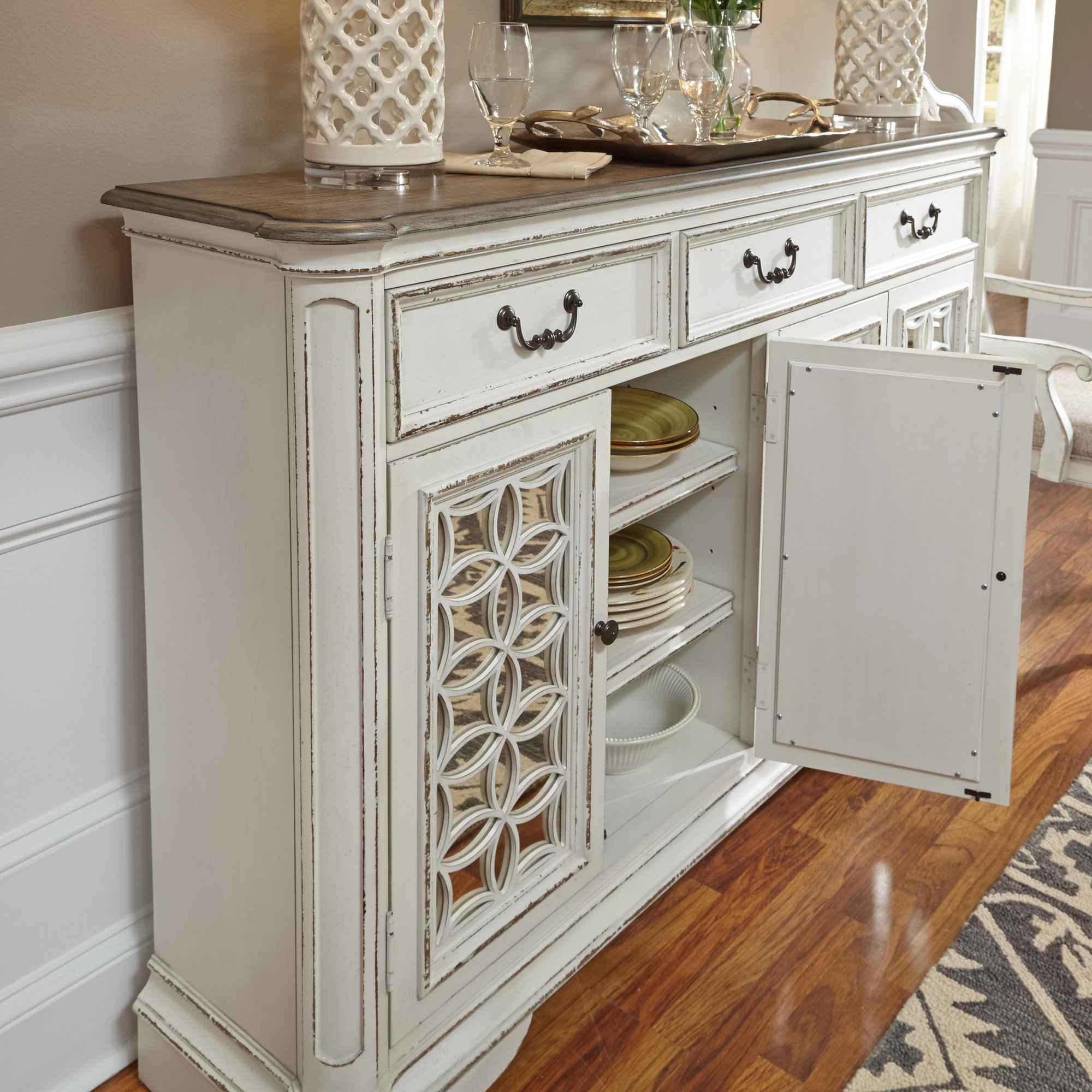 2019 Lark Manor Tiphaine Sideboard With Tiphaine Sideboards (View 1 of 20)