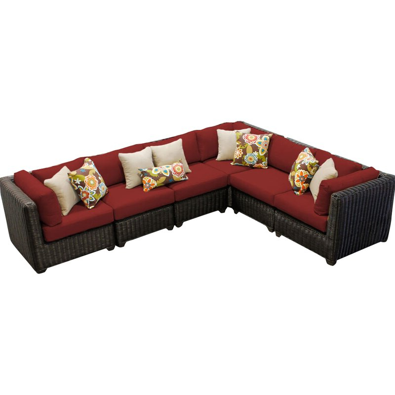 2019 Lorentzen Patio Sectionals With Cushions Intended For Fairfield Patio Sectional With Cushions (View 1 of 20)