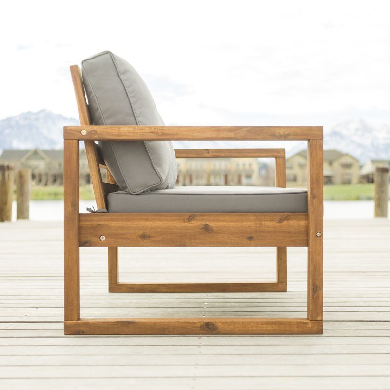 2019 Lyall Loveseat With Cushion (View 2 of 20)