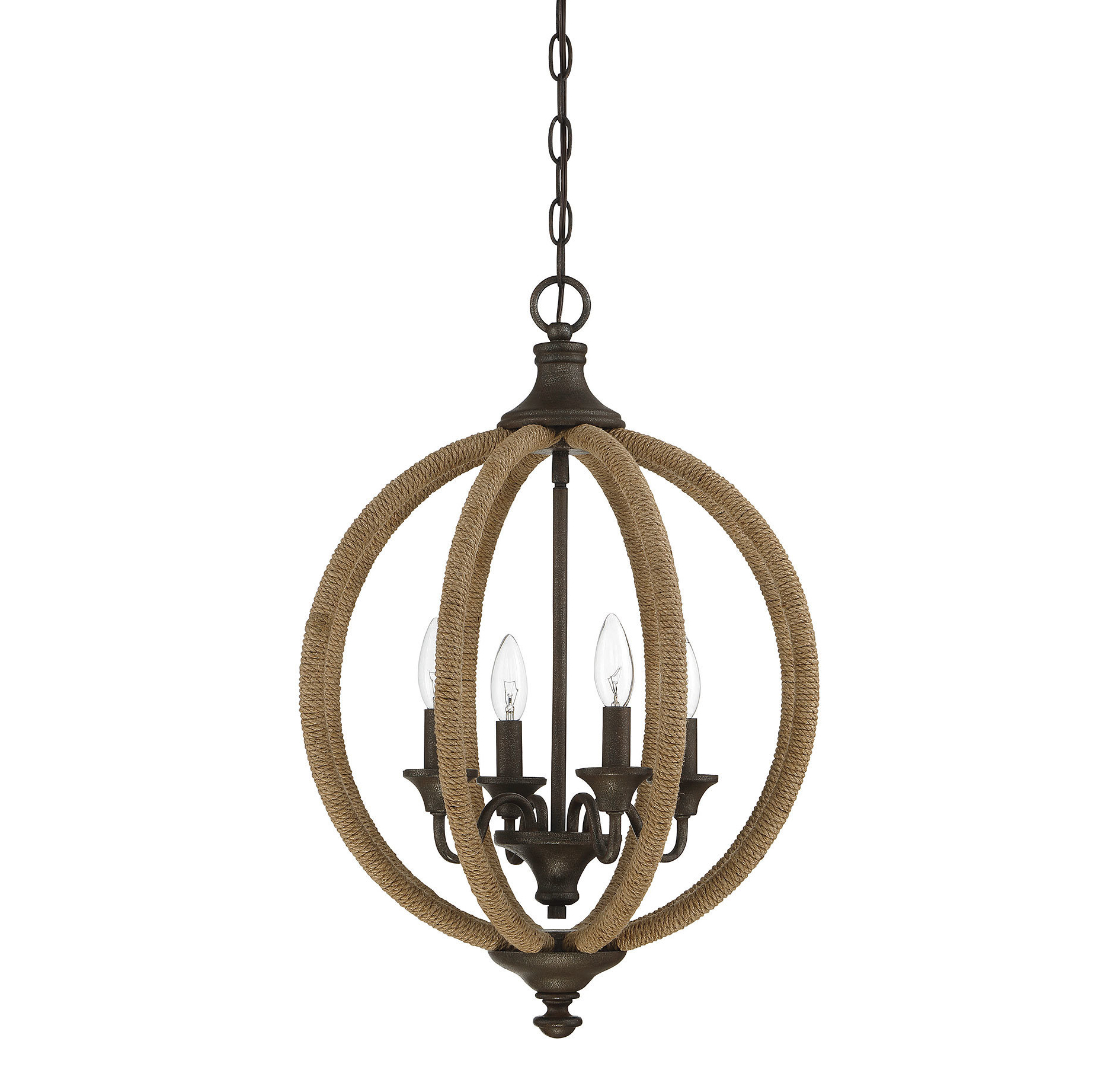 2019 Lynda 4 Light Globe Chandelier With Regard To Donna 4 Light Globe Chandeliers (Gallery 11 of 20)
