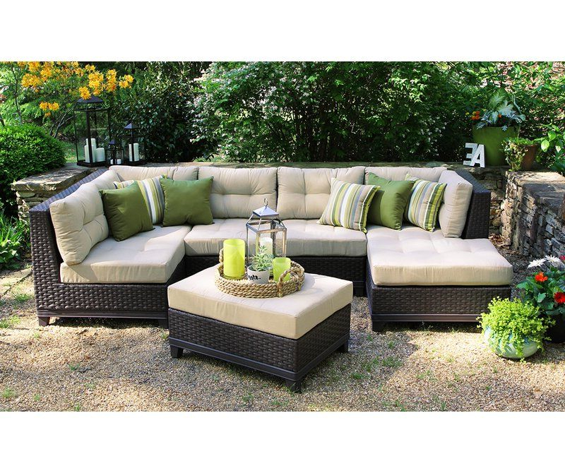 2019 Madison Avenue Patio Sectionals With Sunbrella Cushions With Regard To Madison Avenue Patio Sectional With Sunbrella Cushions In (View 1 of 20)