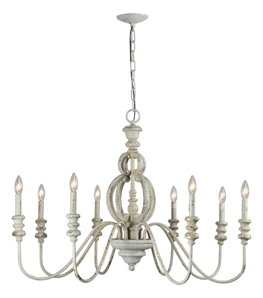 2019 Margo 8 Light Chandelier (Gallery 9 of 20)