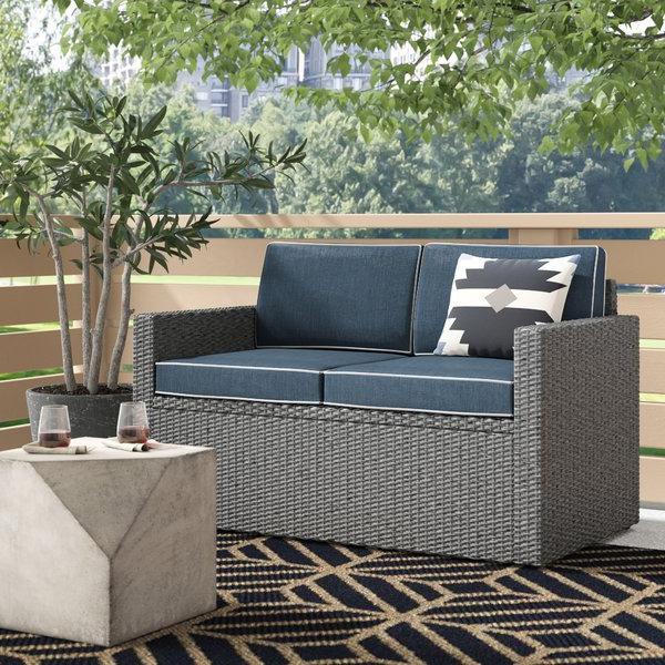2019 Mendelson Loveseat With Cushion Regarding Mendelson Loveseats With Cushion (Gallery 2 of 20)