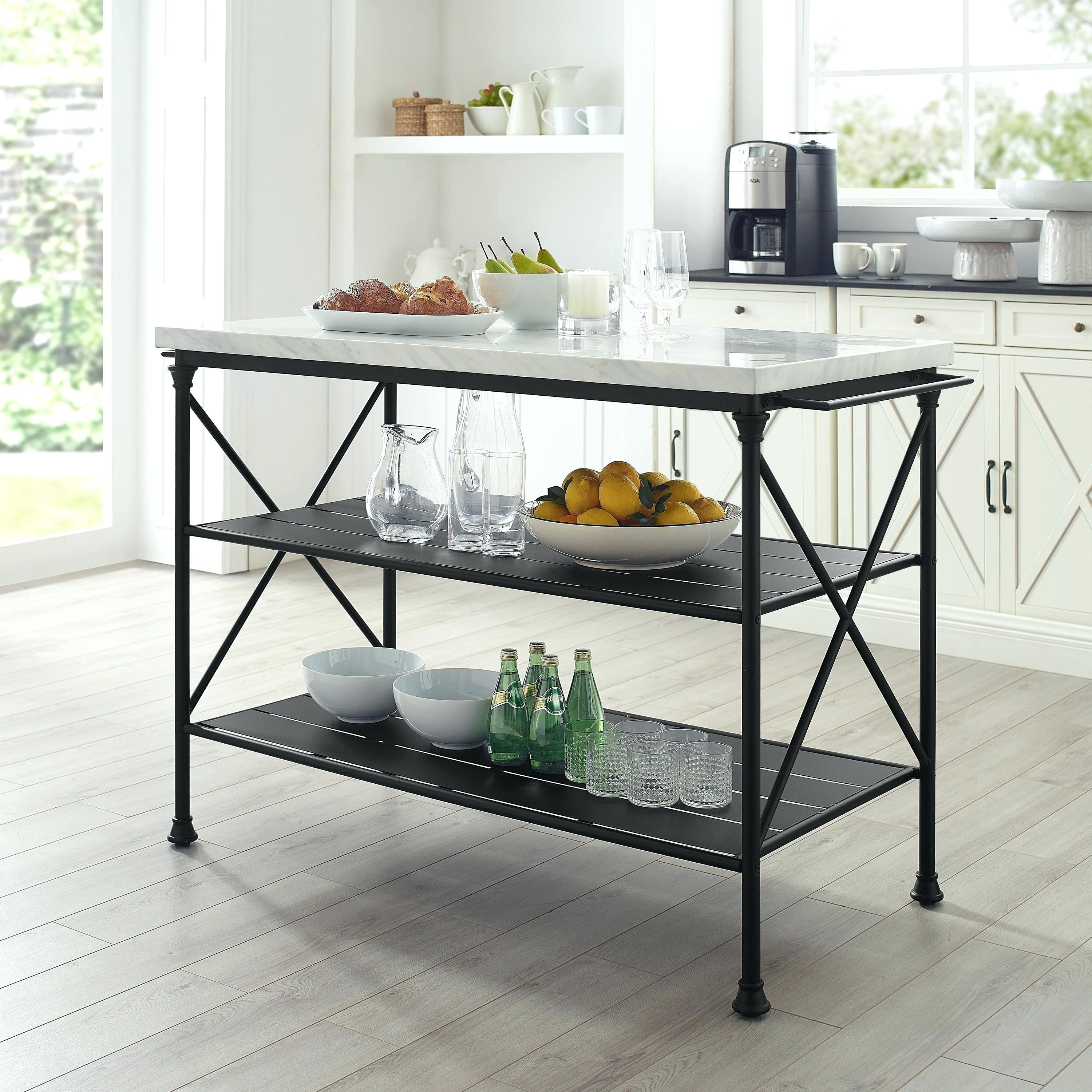 2019 Metal Kitchen Island – Quyenyeary (View 1 of 20)