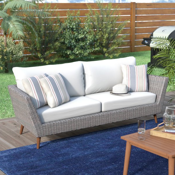 2019 Newbury Patio Sofas With Cushions With Newbury Patio Sofa With Cushions (Gallery 1 of 20)