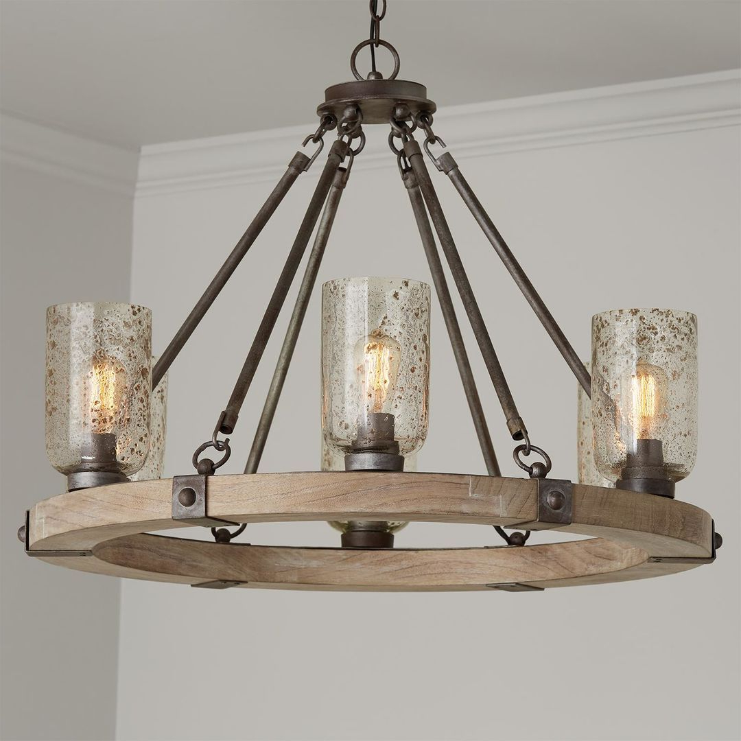 2019 Nolan 35 Inch 6 Light Chandeliercapital Lighting Fixture Inside Nolan 1 Light Lantern Chandeliers (View 1 of 20)