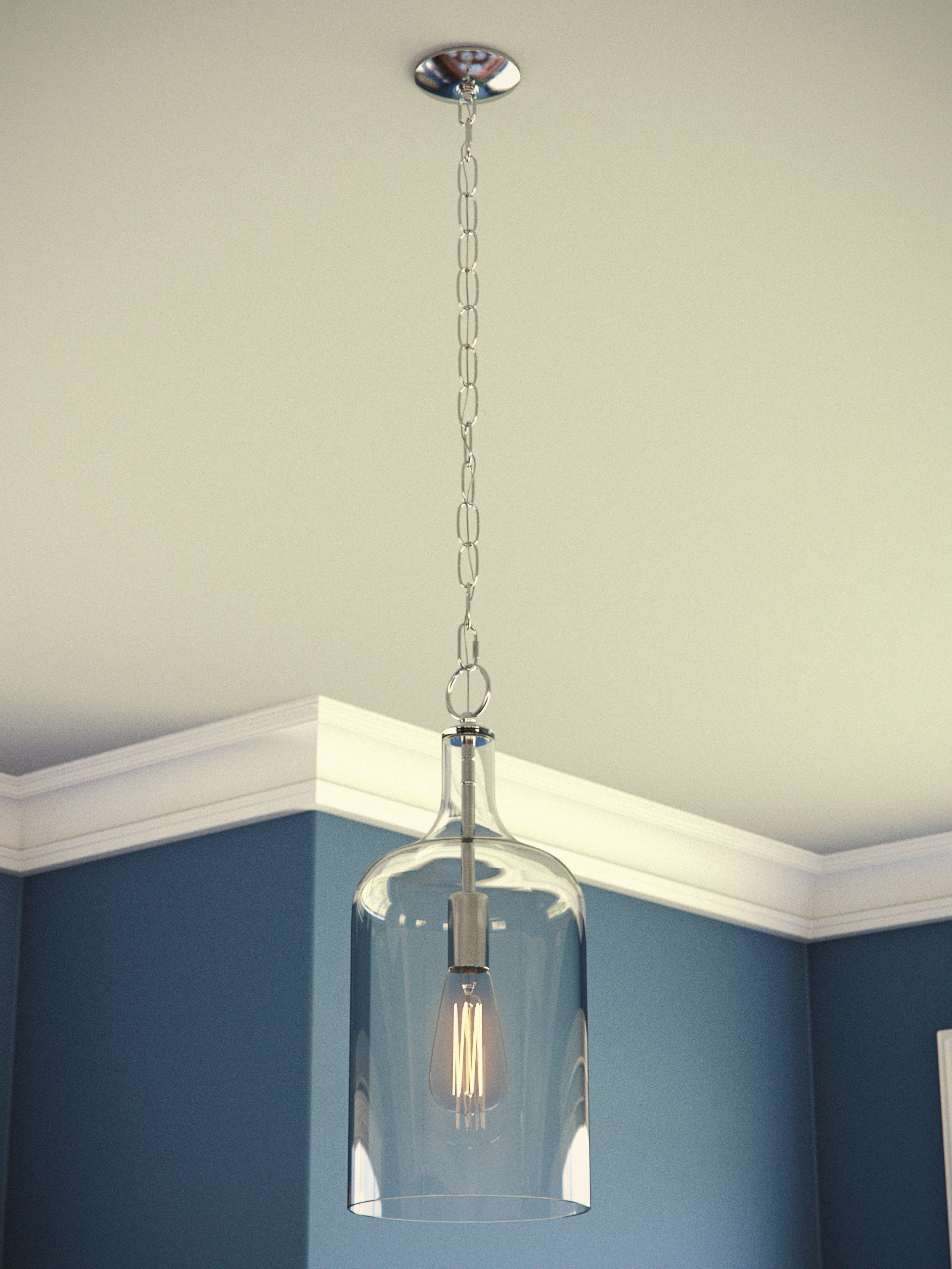 2019 Oldbury 1 Light Single Cylinder Pendants With Regard To Clematite 1 Light Single Jar Pendant (Gallery 5 of 20)