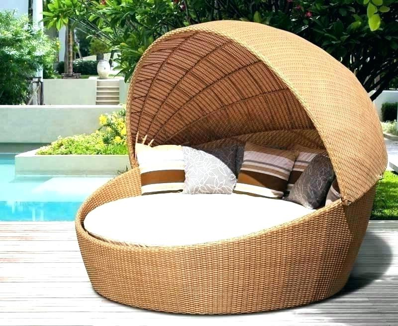 2019 Outdoor Wicker Daybed – Mobilejesus.co In Lavina Outdoor Patio Daybeds With Cushions (Gallery 15 of 20)
