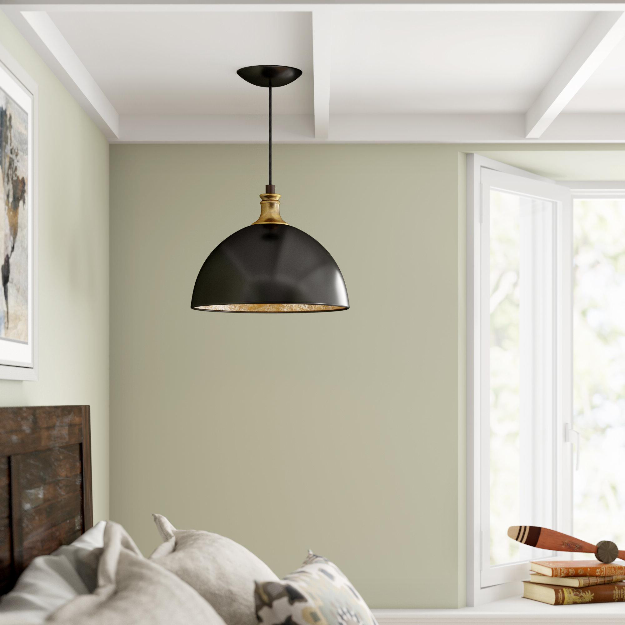 2019 Ryker 1 Light Single Dome Pendants Intended For Vanhoose 1 Light Single Dome Pendant (Gallery 3 of 20)