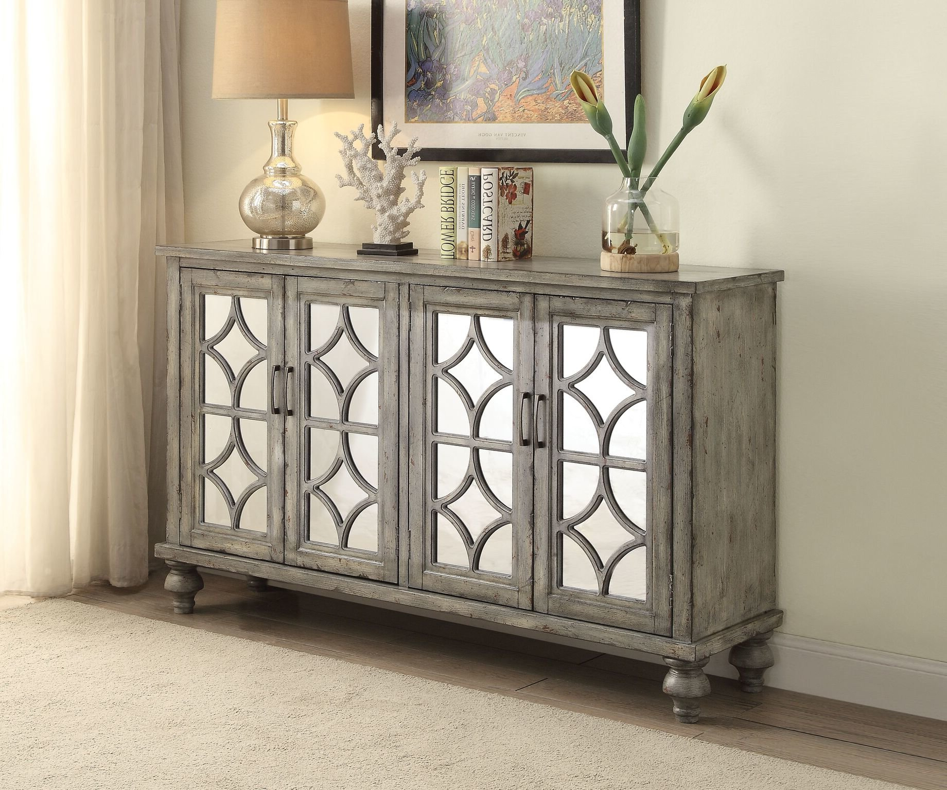 2019 Senda Credenzas Intended For Pulcova Iii Sideboard (View 1 of 20)