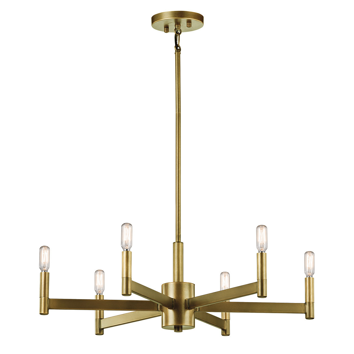 2019 Sherri 6 Light Chandeliers In Gavin 6 Light Candle Style Chandelier (Gallery 9 of 20)